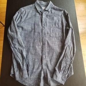 Men's Blue Heathered Shirt